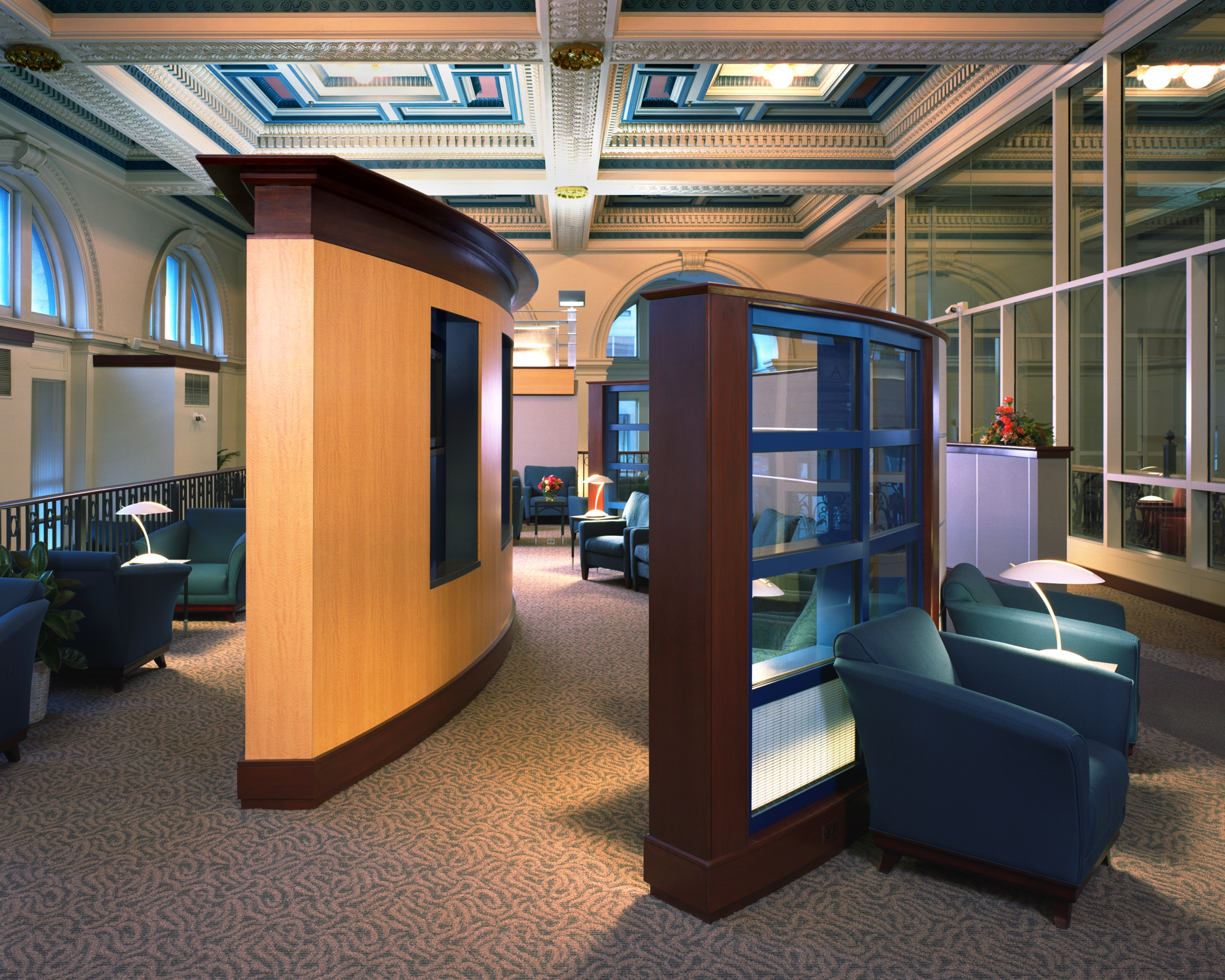 Lake Contracting 187 Amtrak Acela First Class Lounge